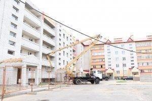 """Проект """"ІК"""" Ивьевщина: вчера, сегодня, завтра. Строительство"""