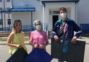 Помогать – просто! Активисты БРСМ приняли участие в акции «Говорим спасибо вам»