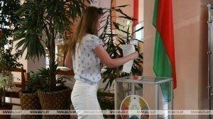 Явка избирателей в Гродненской области превысила 75%